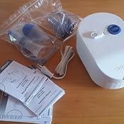Omron Nebulizador C102 con lavado nasal 2 en 1, dispositivo de uso doméstico para el tratamiento de enfermedades respiratorias como el asma, para ...