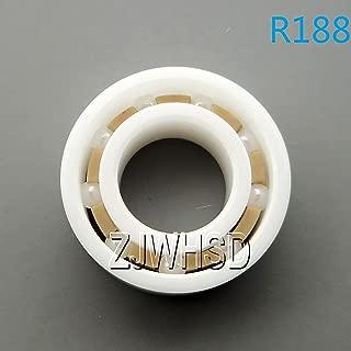 R188 ZrO2 指 スピナー フィンガージャイロ 深溝玉軸受 内径 6.35mm 外径 12.7mm 幅 4.763mm ジルコニアセラミックベアリング 龜旅