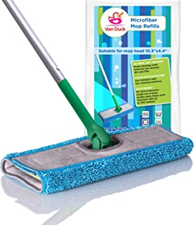 Microfiber Mop Pads Compatible with Swiffer Sweeper, 4-Pack