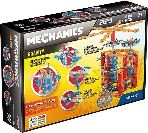 Geomag - Mechanics Gravity 776, Up & Down Circuit, Jeu de Construction, GM303, Multicolore, 330 Pièces