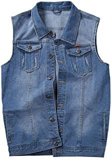 Jyg Mens Denim Vest