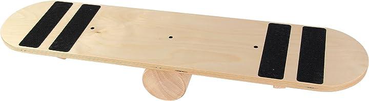 balance board rola bola in legno - ideale per migliorare equilibrio, forza e agilità powrx b01ieu3kgi