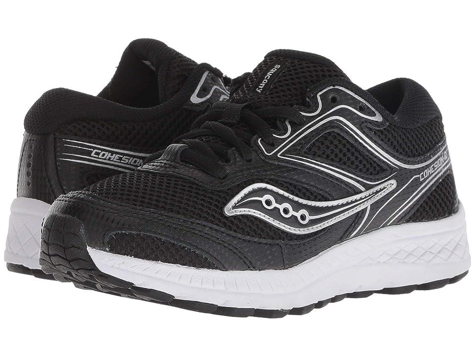 Saucony Kids Cohesion 12 LTT (Little Kid/Big Kid) (Black) Boys Shoes