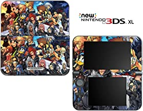 Kingdom Hearts Final Mix II Decorative Video Game Decal Cover Skin Protector for New Nintendo 3DS XL (2015 Edition)