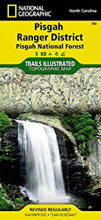 Pisgah Ranger District [Pisgah National Forest] (National Geographic Trails Illustrated Map (780))