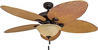 Amazon Com Rattan Ceiling Fan
