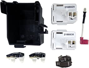 Supco OLK1786 Compressor Relay Start Kit Replaces Whirlpool 8201786, 1177466, 2188829, 2188830