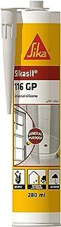 Sika Sikasil-116 GP, Universal Silicone, 280ml, Transparent, 606959