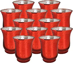 Best large red hurricane candle holders Reviews