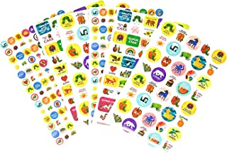 Leap Year World of Eric Carle 400+ Fun & Reward Sticker Booklet | 6 Sheets | Motivational and Encouraging Stickers | Incen...