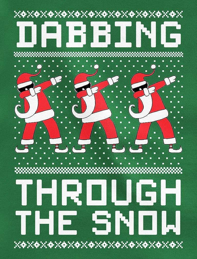 Tstars Dabbing The Snow Santa Christmas Dab Toddler Hoodie