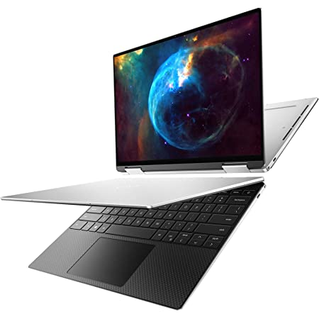 Dell XPS 13 7390 2-in-1 Convertible, 13.4 inch FHD+ Touch Laptop - Intel Core i7-1065G7, 32GB LPDDR4x RAM, 512GB SSD, Intel Iris Plus Graphics, Windows 10 Home - Platinum Silver, Black Interior