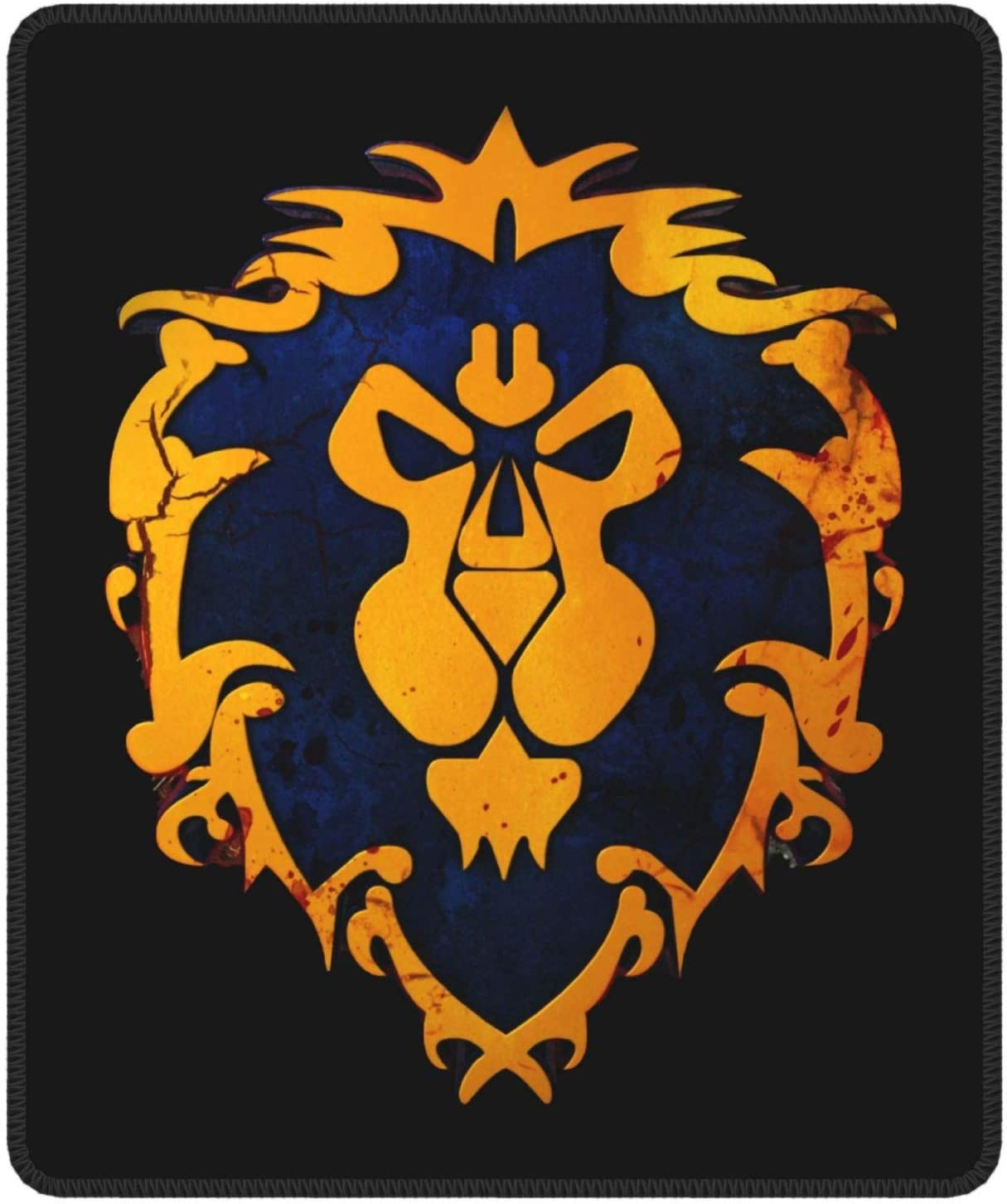 World Same day shipping Warcraft Locking Factory outlet Mouse Pad Non-Slip Rubber Ba with