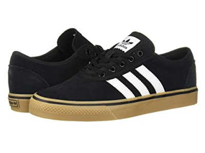 adidas Skateboarding Adi-Ease (Core Black/Footwear White/Gum 4) Skate Shoes