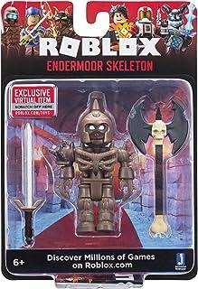 Roblox Endermoor Skeleton 2.75 Inch Figure with Exclusive Virtual Item Code