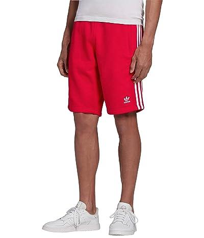 adidas Originals 3-Stripes Shorts (Scarlet) Men