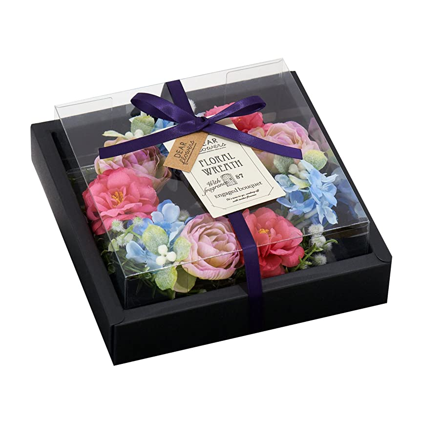 キリスト扱う任命ディアフラワーズ フローラルリース 約束の花束
