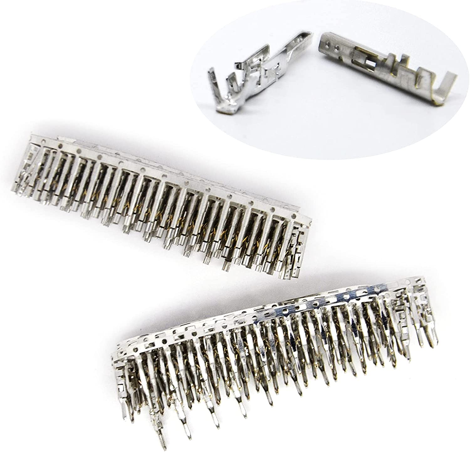 Gikfun 100Pairs Direct stock discount Fixed price for sale 18-24AWG Male and Wire fo Female Connectors Pins