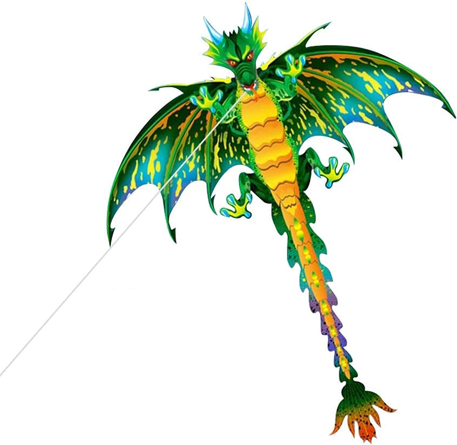 HOMEE Dragon Kite, 61inch Pterosaur Kite for Kids  Adults, Suit