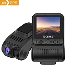 TOGUARD Dash Cam 4K GPS UHD Dashboard Camera for Cars 2 inch 170° Wide Angle Dash Camera with Loop Recording Parking Monitor Travelapse