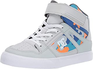 DC Kids' Pure High-top Se Ev Skate Shoe