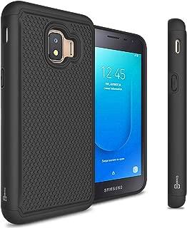 CoverON HexaGuard Series for Samsung Galaxy J2 Pure Case/Galaxy J2 Dash Case/Galaxy J2 Core Case Protective Heavy Duty Phone Cover - Black