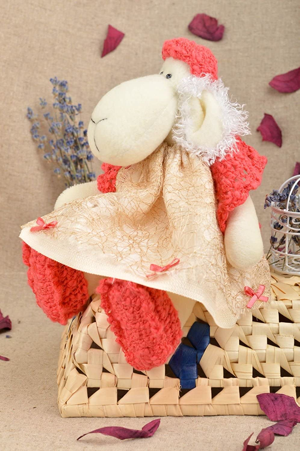 Handmade Soft Toy Collectible Toys Interior Decorating Decorative use only