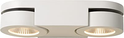 Lucide MITRAX - Spot Mural - LED Dim. - 2x5W 3000K - Blanc
