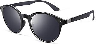 Retro Sunglasses for Men- wearPro Cateye Polarized Round...