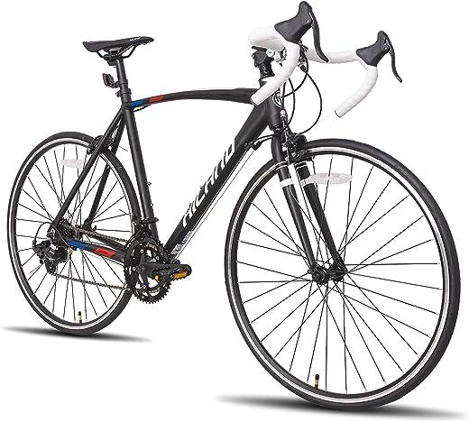 Hiland Road Bike 700c Racing Bike with 14 Speeds Drivetrain