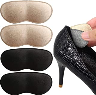 Excefore 6 Pairs Heel Cushion Pads Heel Shoe Grips Liner Heel Grips Liner Insert for Shoes Too Big, Shoe Inserts Liners fo...