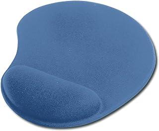 Ednet Gel Mouse Pad w/Wrist Rest - Blue