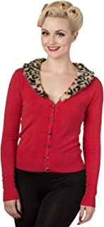 Banned Red Fur Cardigan