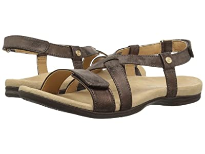 Spenco Cross Strap (Dark Brown) Women