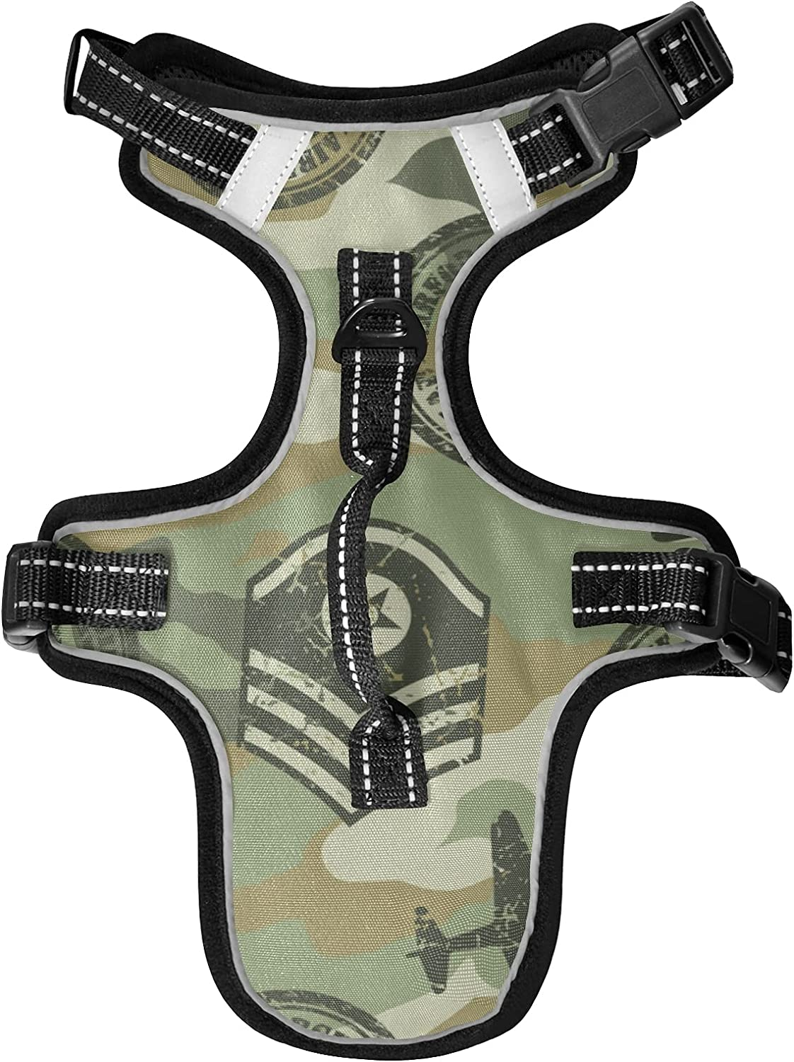 Popular KFBE Plane Camouflage Cat Product Harnesses Leash Vest and Dog