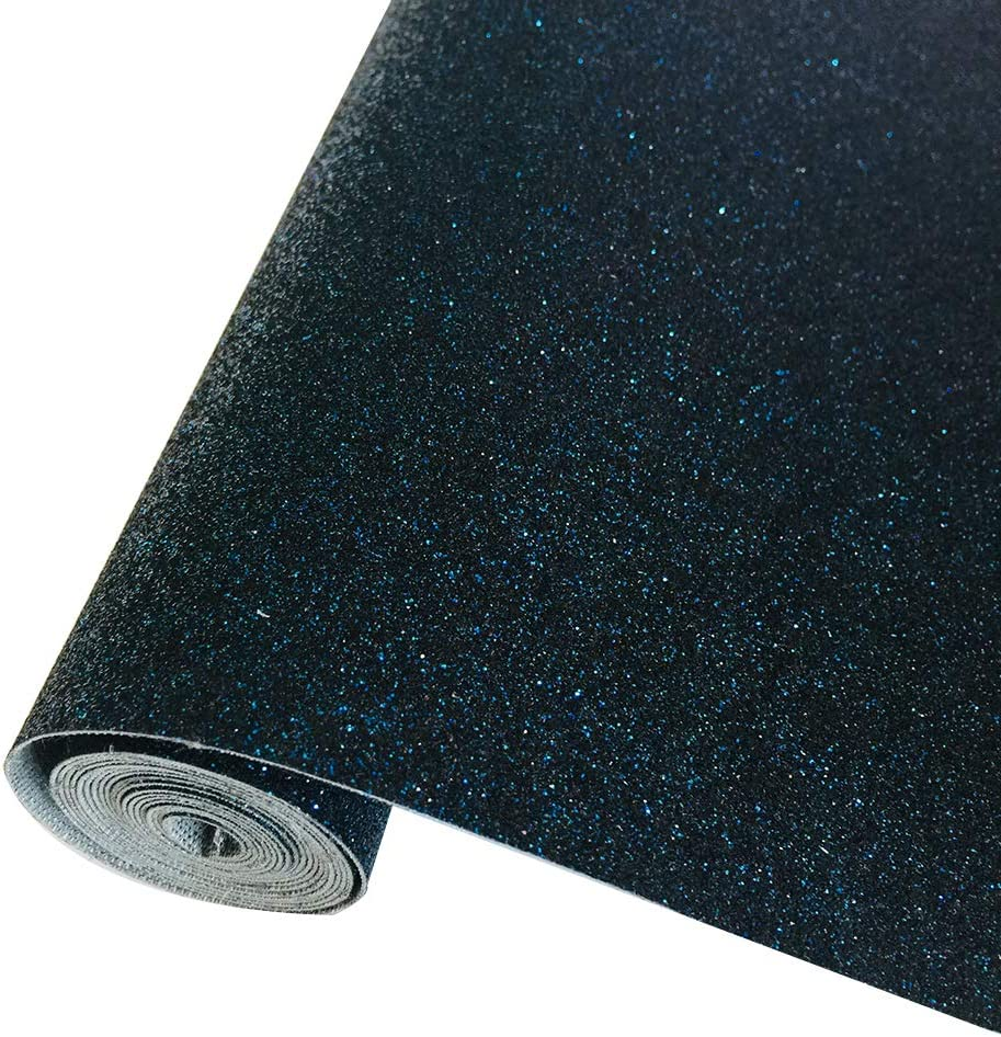 Las Vegas Mall Glitter Surprise price Leather Sheets Shiny Faux Perfect Canvas for Craf Fabric