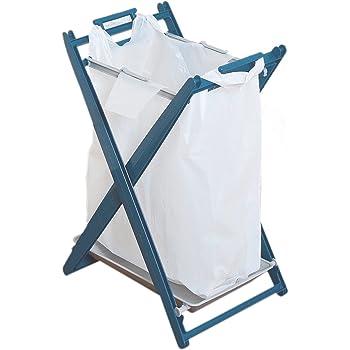 平和工業 ゴミ箱 エコロスタンド 1段 ブルー
