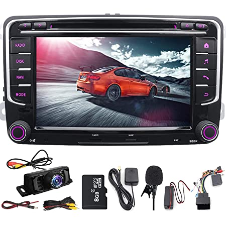 Double Din Car Stereo 7inch Touchscreen Dvd Player In Dash Gps Navigation Usb Sd Fm Am