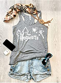 Hogwarts Castle/Harry Potter Love/True To Women's Fit/Women's Eco Tri-Blend Tanks//Universal Trip Shirt/Harry Potter Clothing/Triblend Tank/Free Shipping//