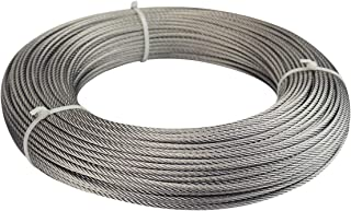 Muzata Stainless Steel Cable Wire Rope 1/8