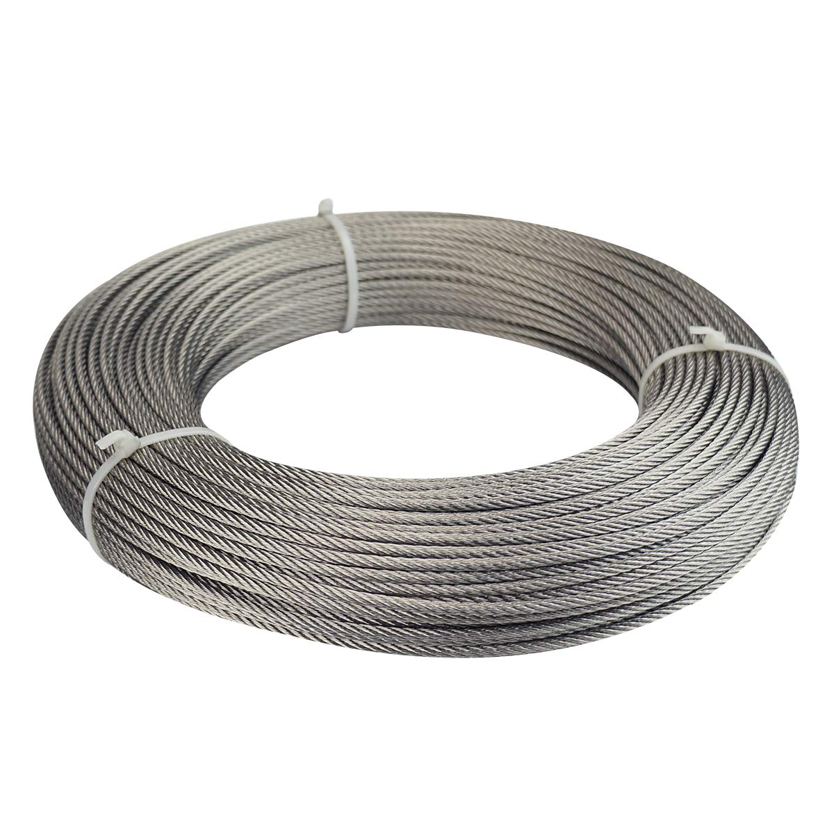 Muzata Max 75% OFF 165ft Stainless Steel Cable Wire 16'' 1 Dealing full price reduction Lig Rope Outdoor