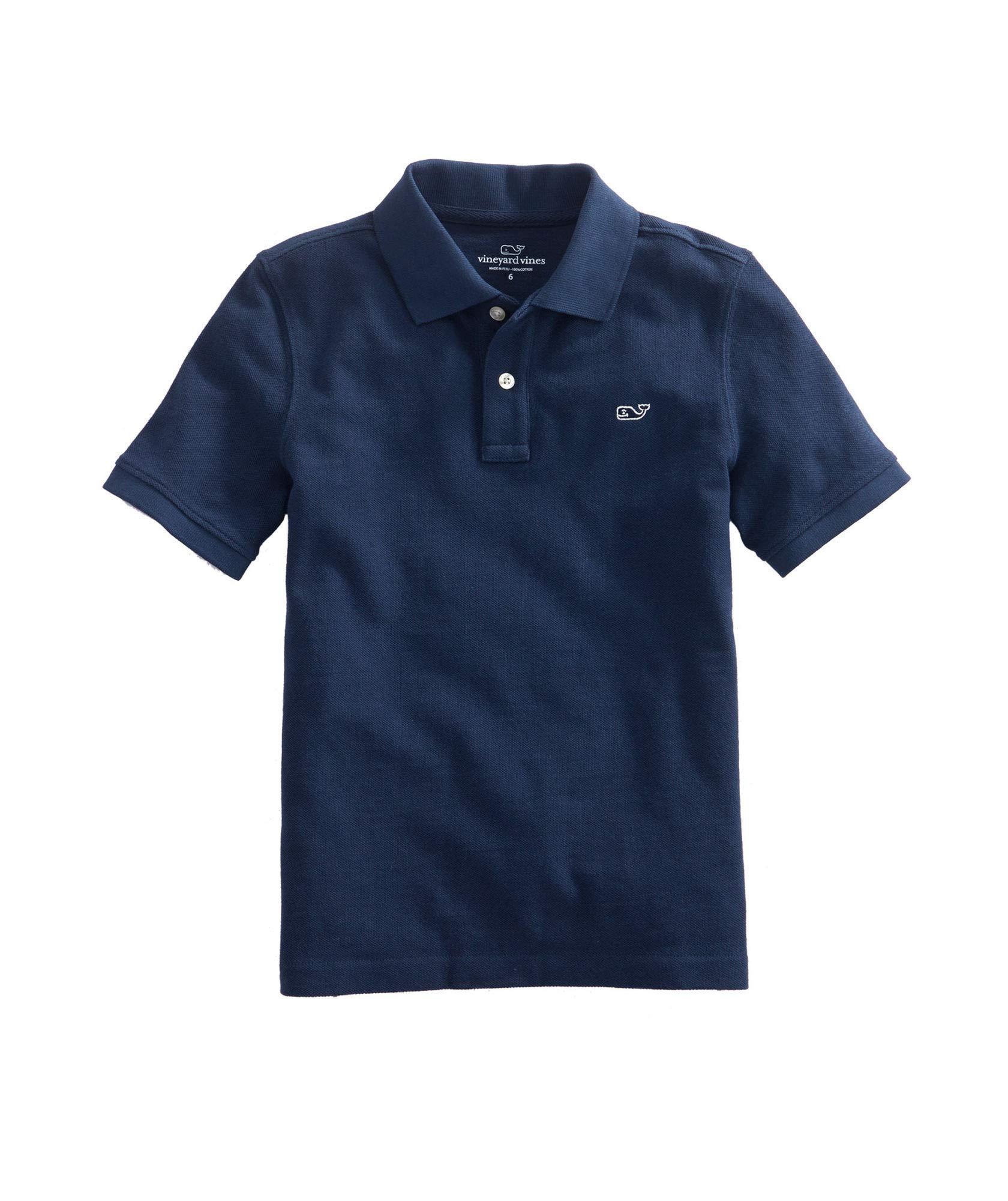Kid's Pique Short Sleeve Polo