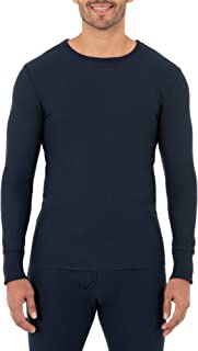 Men's Classic Midweight Waffle Thermal Underwear Crew Top