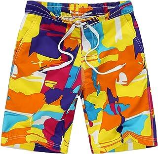الفتيان ملابس السباحة السراويل السباحة الشباب السباحة جذوع السباحة تصفح Boardshorts شاطئ الرياضة السراويل القصيرة (Color :...