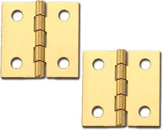 """PRECISION SCALE  ALL Scale  WORKING Brass Hinges  1//2/"""""""