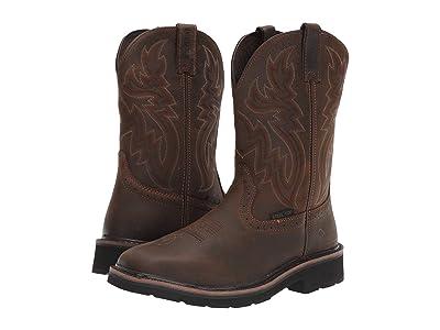 Wolverine Rancher Wellington Steel Toe (Dark Brown/Rust) Men