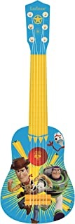 Lexibook Toy Story Woody Buzz My First Guitare, 6 Nylon Strings, 53 cm, Guide Included, Blue/Yellow, K200TS