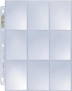 Ultra Pro Platinum Series Hologram 9-Pocket Pages (50)
