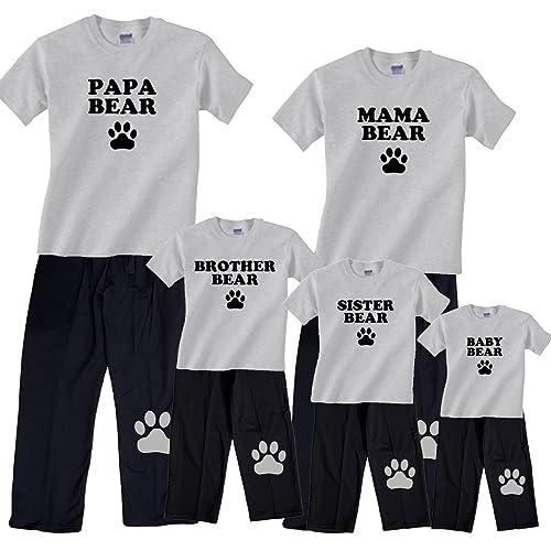 ad5473dfb3 Bear Family Matching Pajamas   Kids Clothing Sets - Mama Bear