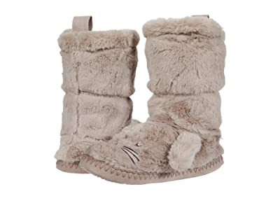 Joules Kids Luxe Padabout Slippers Boot (Toddler/Little Kid/Big Kid) (Bunny) Girl